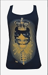 Queen Bee Racer Back Tank by artist Kurono